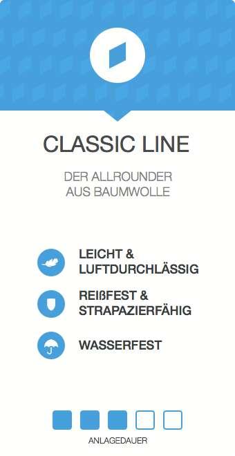 Kinesiologie Tape Classic Line - ,ittlere Anlagedauer - leicht und luftdurchlässig - reißfest und strapazierfähig - wasserfest